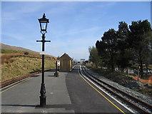 SH5752 : Rhyd Ddu station by David Stowell