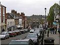 SZ3295 : Lymington High Street by Jim Champion
