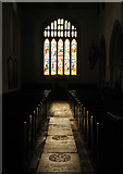 SP1106 : And There Was Light : Church at Bibury by Pam Brophy