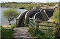 SW7632 : Argal Reservoir Dam by Tony Atkin