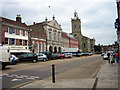 ST8806 : The Market Place, Blandford Forum by John Lamper