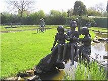 SJ6651 : Stapeley Water Gardens by Kenneth  Allen