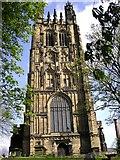 SJ3350 : St Giles Parish Church, Wrexham by Kenneth  Allen