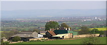 NZ2322 : Haliwell Farm from Highside by Hugh Mortimer