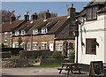 SE7479 : Houses and Pub at Great Barugh by Colin Grice