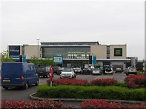 SK4625 : Castle Donington Services by Andrew Tatlow