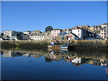 SW8132 : Falmouth Harbour by David Stowell