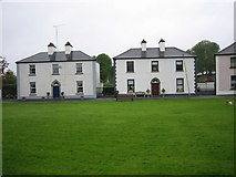 N4137 : Houses in Tyrrellspass by Brian Shaw