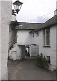 SD3598 : Vicarage Lane, Hawkshead by Humphrey Bolton