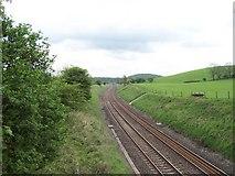 SD8656 : Railway near Hellifield by Chris Heaton