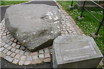 J4844 : St Patrick's grave? by Albert Bridge