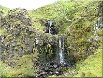 NG4162 : Waterfall by Dave Fergusson