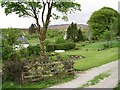 NM8163 : Gardens, Scotstown by Richard Webb