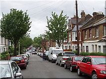 TQ2081 : Brougham Road, North Acton by David Hawgood