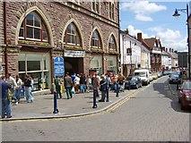 SO2914 : Market day in Abergavenny by Kevin Flynn