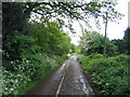 SP0576 : Bell Green Lane by David Stowell