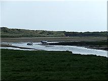 SH3568 : The river at Aberffraw by Nigel Williams