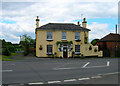 TQ5312 : Golden Cross Inn, Golden Cross by Simon Carey