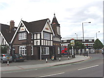 TQ2081 : The Castle public house, North Acton by David Hawgood