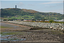 J4972 : Sea defences, Newtownards (1) by Albert Bridge