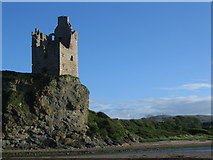 NS3119 : Greenan castle by Phil Williams