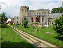 TM1763 : Debenham Church by Stephen McKay