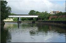 ST7365 : Gasworks Siding Bridge, River Avon, Bath by Pierre Terre
