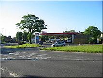 SK3336 : Markeaton Island Petrol Station by Mike Bardill