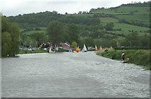 ST6967 : River Avon above Saltford Lock by Pierre Terre