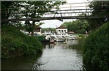 ST6668 : Port Avon Marina, Keynsham by Pierre Terre