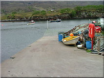 NG7040 : Ard-dhubh Slipway by Dave Fergusson