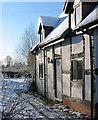 SJ5846 : Cottage, Pinsley Green by Espresso Addict