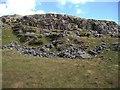 SH6535 : Cliff near Moel Ddinas by Rudi Winter