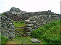 SH6115 : Dry stone walls by Eirian Evans
