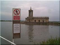 SK9306 : St Matthews Church, Normanton, Rutland by Tim Hallam