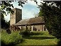 TM1861 : St. Andrew's church, Winston, Suffolk by Robert Edwards