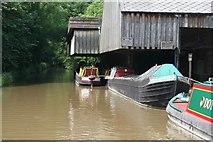 SJ7426 : Cadbury Wharf, Knighton, Shropshire Union Canal by David Morris