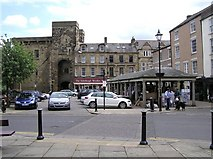 NY9364 : The Square, Hexham by Kenneth  Allen