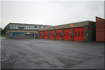SE0724 : Halifax fire station by Kevin Hale