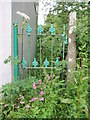 SW6235 : Gate at Little Borthog by Sheila Russell