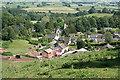 SY1099 : Feniton: the village by Martin Bodman