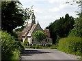SU2227 : Holy Trinity church, East Grimstead by Peter Jordan