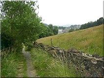 SE1316 : Footpath from Gledholt Bank to Springwood, Marsh (Huddersfield) by Humphrey Bolton