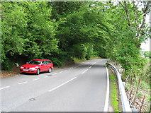 NN1127 : Roadside layby by Lochawe village. by Johnny Durnan