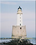 NK1157 : Rattray Head Lighthouse by Anne Burgess