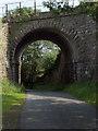 NY4447 : Railway bridge, Birkthwaite by Andrew Smith
