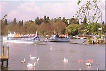 SD4096 : Cruise Boats (Lake Windermere ) by James Hearton