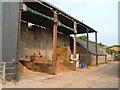 ST3022 : Barn against aqueduct, Wrantage by Derek Harper