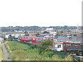 TQ5080 : Belvedere bus depot by Stephen Craven