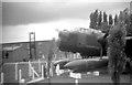 SK9779 : Lancaster Bomber At The Main Gate, RAF Scampton by John Lucas